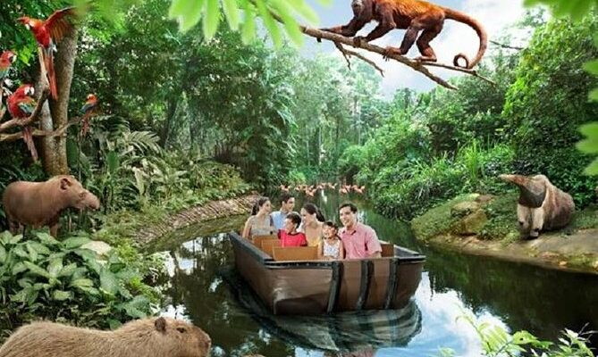 Top 3 River Safari Attractions You Shouldn't Miss on Your Singapore Vacation